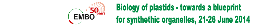 Biology of plastids – towards a blueprint for synthetic organelles, 21-26 June 2014
